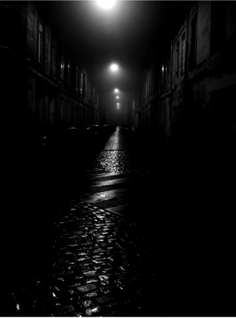 A ghost on a dark street by Gary3 6 9 on DeviantArt