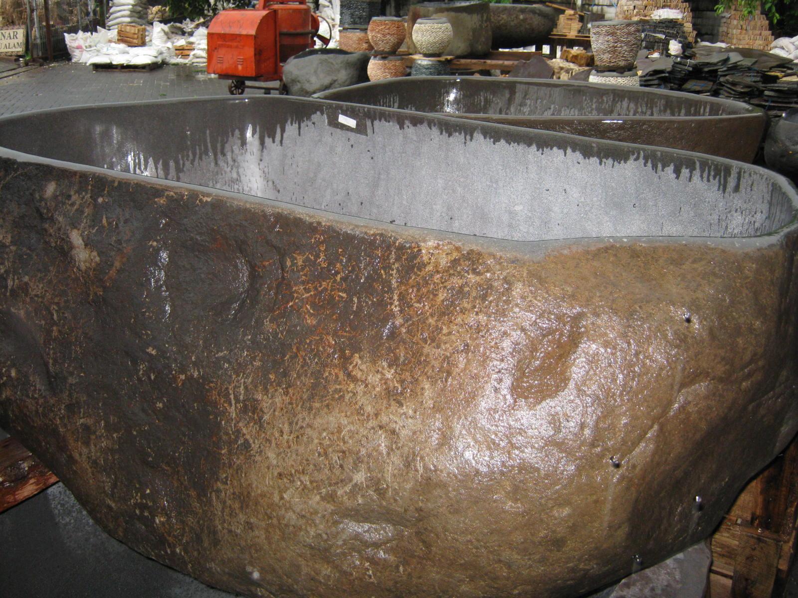 River stone bathtub for Bulk river rock for sale near me