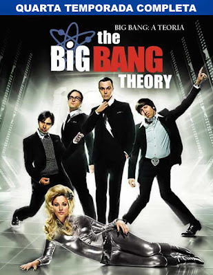 The Big Bang Theory - 4ª Temporada Completa - HDTV Legendado