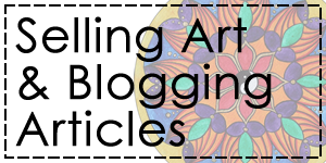 how to sell art and blog articles