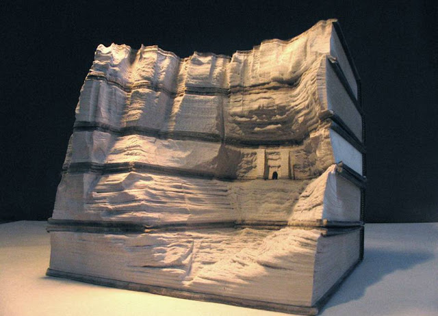 Amazing Book Sculptures