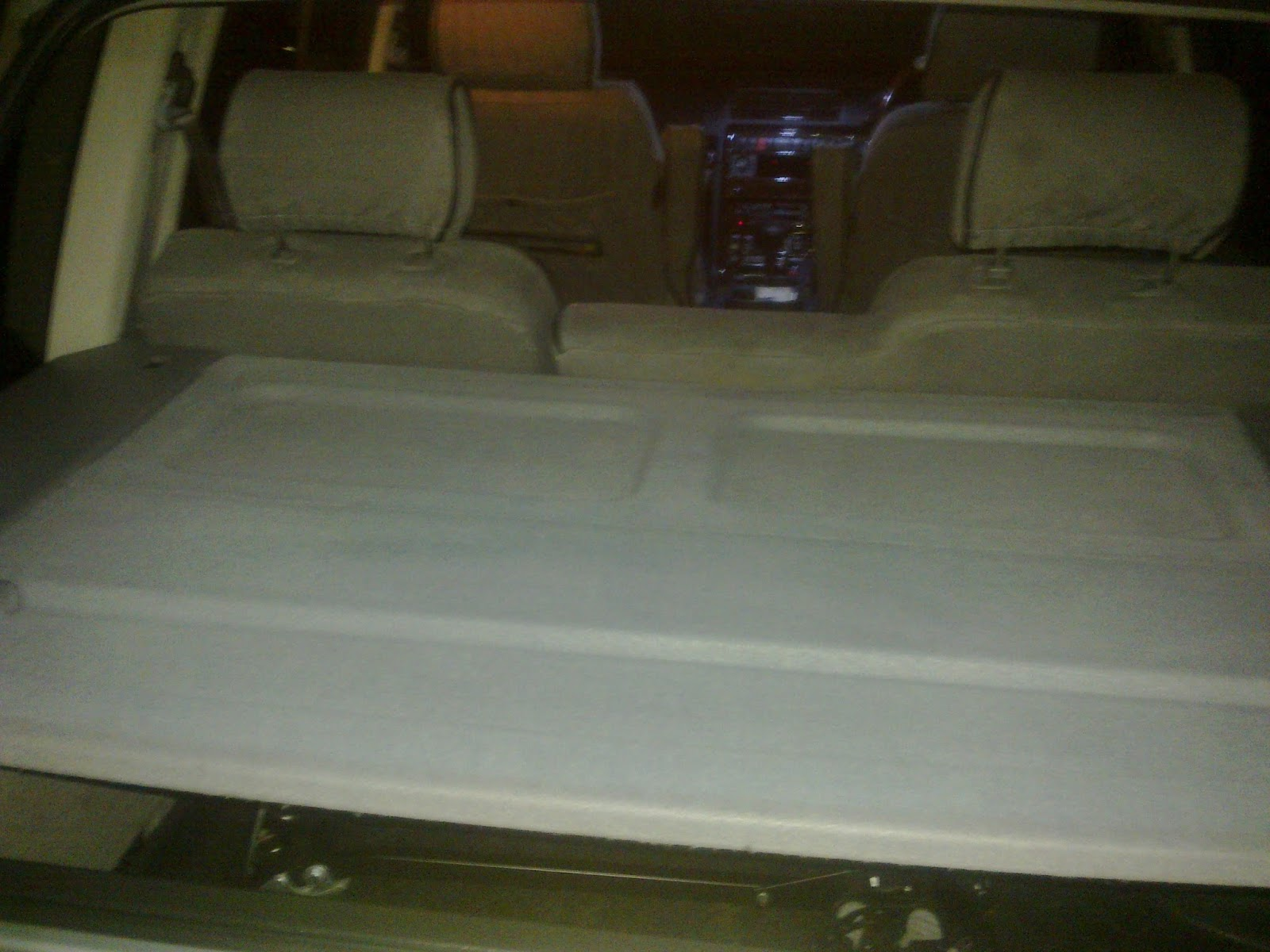 Range Rover World P38 Load Space Light Add On Led Dsp Wiring There You Have It Looks Alot Better Than In The Picture