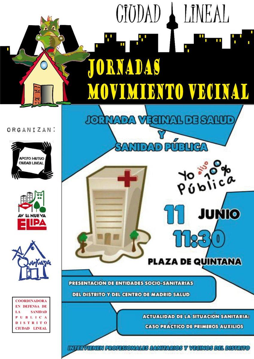 11 junio Ciudad Lineal
