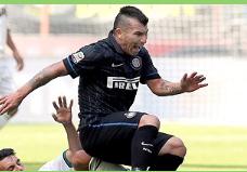 Medel tuvo destacada actuación en goleada del Inter de Milan sobre el Sassuolo en el Calcio