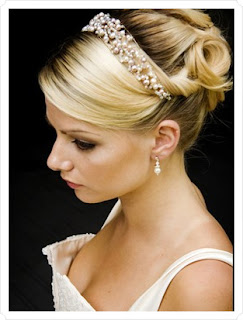 crystal bridal headbands