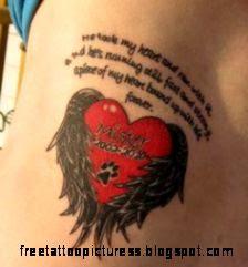 Pet Memorial Tattoos on Pinterest  Dog Memorial Tattoos Pet