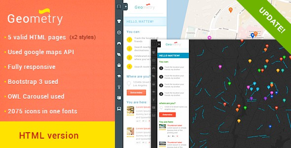 Free File of the Month on Themeforest