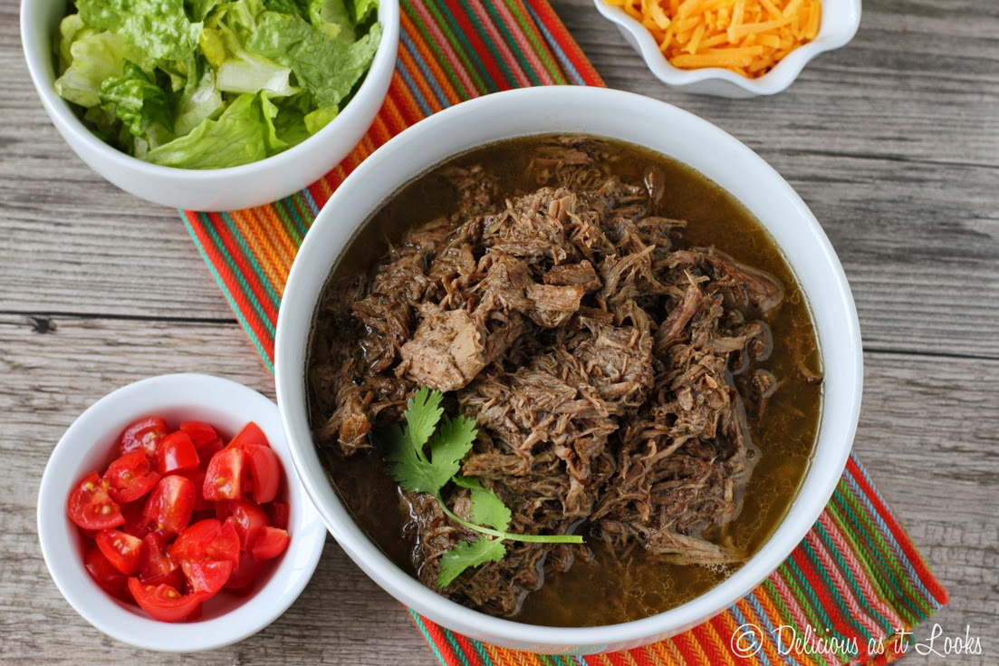 Easy-On-The-Belly Barbacoa {Low-FODMAP}  /  Delicious as it Looks