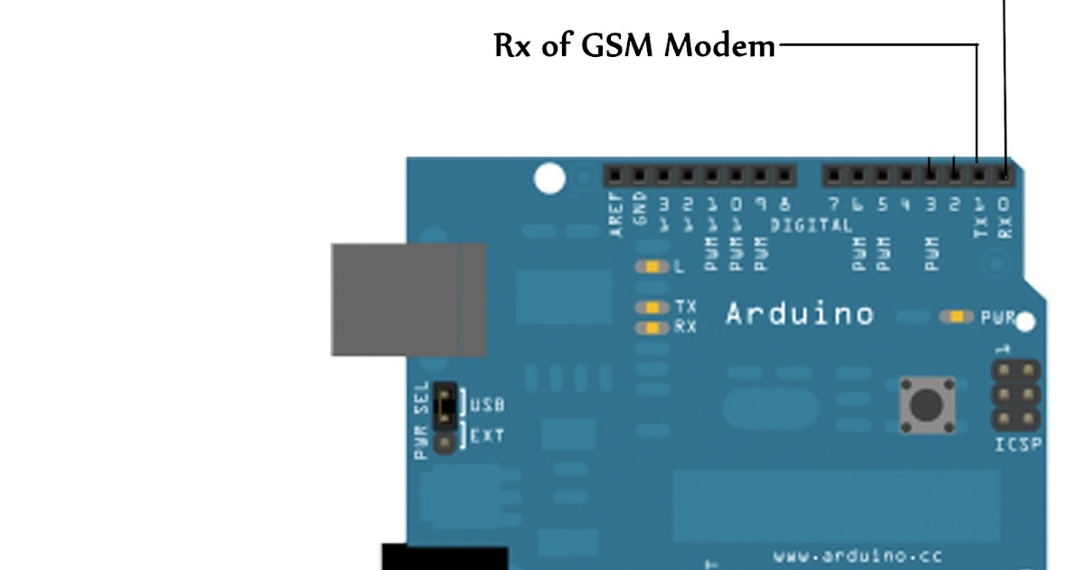 Let s play with arduino gsm modem uno