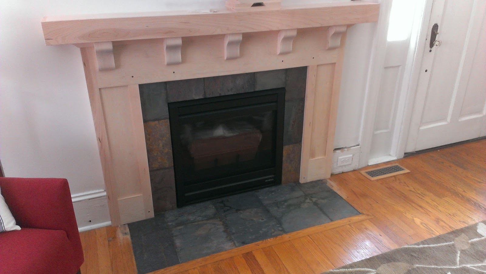 Gas Fireplace Renovations : Balding brothers