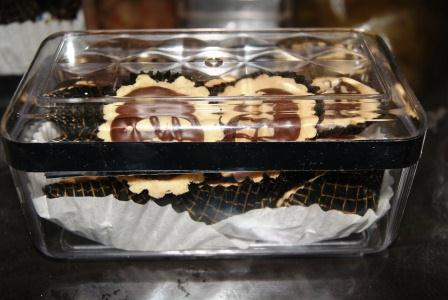 TART BADAM COKLAT