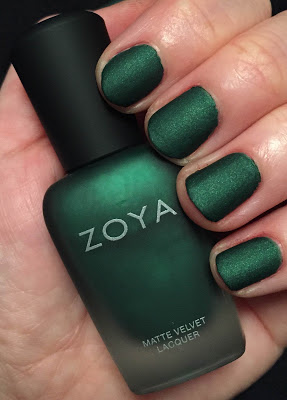 My 2014 in nails, #ManiMonday, Mani Monday, manicure, nails, nail polish, nail lacquer, nail varnish, Zoya MatteVelvet Collection, Zoya Veruschka