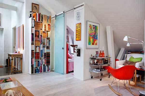 Entre barrancos decoraci n un apartamento en estocolmo - Apartamentos en estocolmo ...