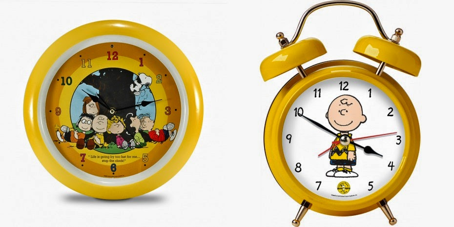 Tell Time With The Peanuts Gang Giveaway