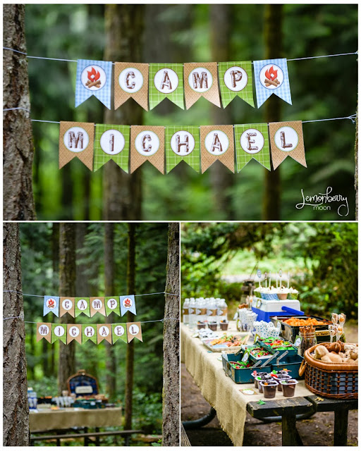 Boys Camping Party | by Forever Your Prints
