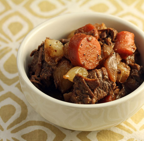 Slow Cooker Honey Sriracha Beef Stew Recipe