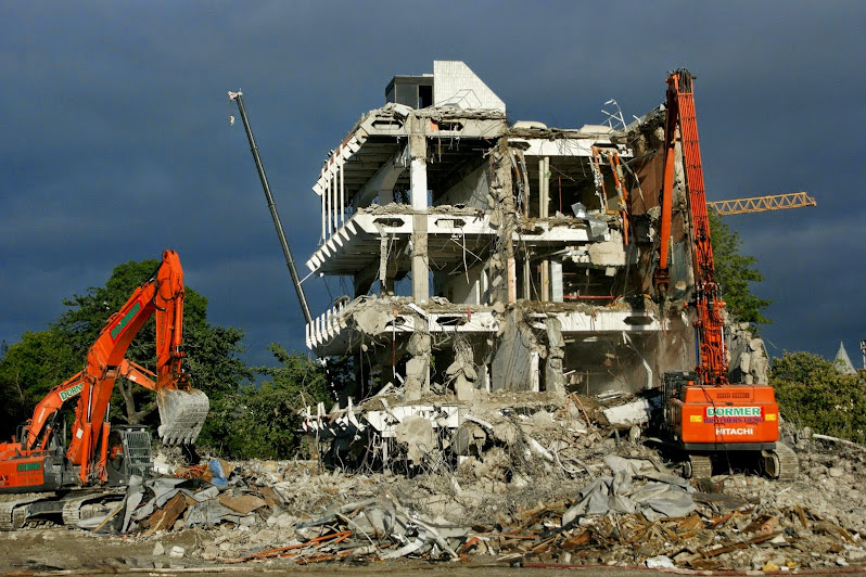 Christchurch: Central Library Demolition