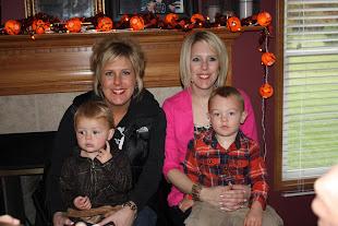 10/7/12 Sarah & Reese (almost 2), Jamie & Mason (2 yrs)