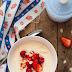 Płatki jaglane na mleku z owocami