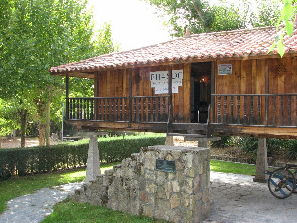 Vista de la Panera, sede de la EH4SDC en Quinta Asturias