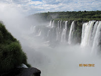 Iguazu Falls – Upper Trail Photo 5, Iguazu National Park,  Argentina.