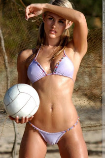 Hottest Volleyball Player Ever Nicky Whelan Is One Sexy Aussie [ www.BlogApaAja.com ]