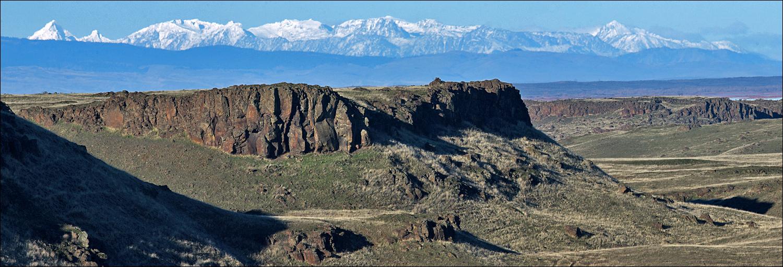 The Stuart Range.