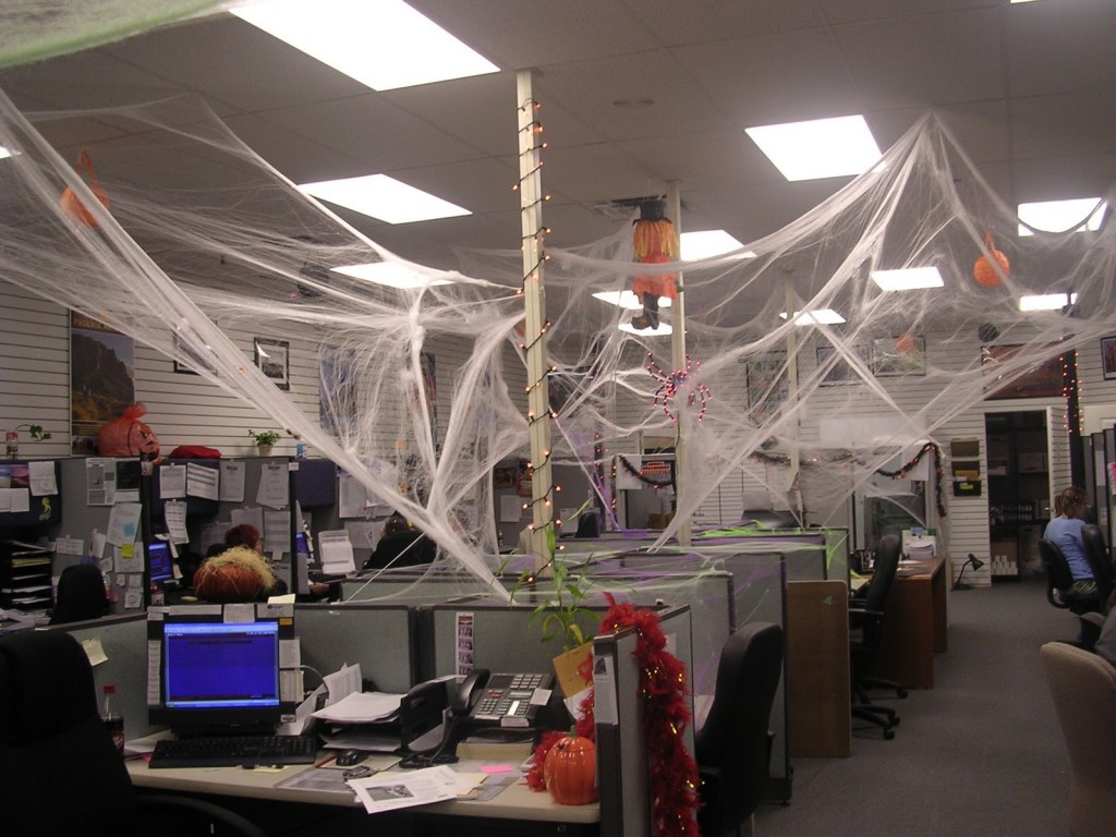 Office halloween decorations ideas - Awesome Halloween Office Decorations Designcontest