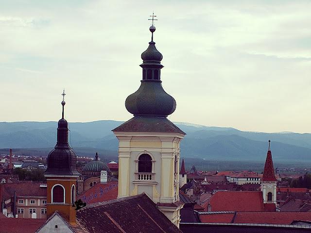 turnuri vedere turnul sfatului sibiu