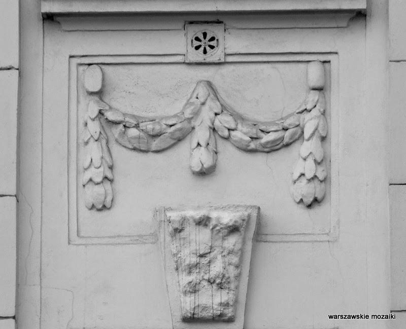 detal kamienica Tomasza Lisowskiego Warszawa Wola zabytek