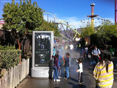 Medusa Six Flags Discovery Kingdom mister Resident Evil