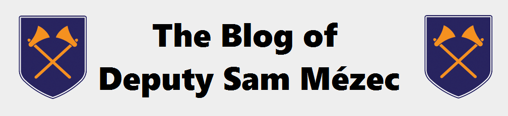 The Blog of Deputy Sam Mézec
