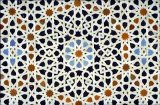 Handmade Moroccan Zillij tile