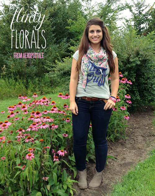 Flity Florals from Aeropostale