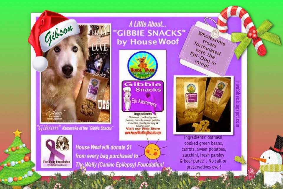 "Gibson is Namesake of Wholesome Vermont, USA Baked Treats - the  ""Gibbie Snacks!!!"" Epi Fundraiser!"