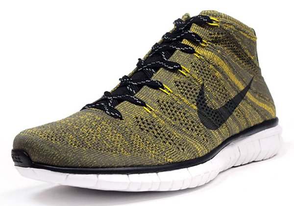 The Nike Free Flyknit Chukka Men s Shoe blends a one-piece knit upper with  a chukka silhouette for breathable e5ae00729