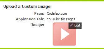 Upload a Custom Image YouTube For Pages