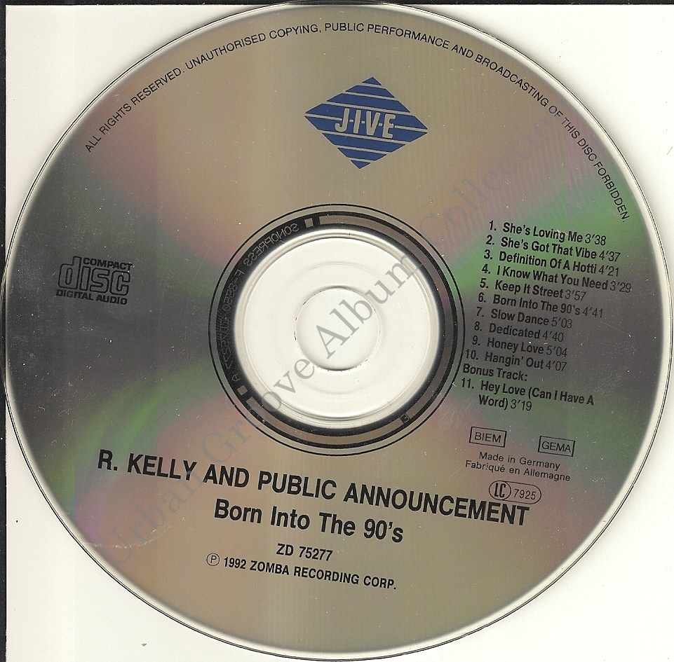 R. Kelly And Public Announcement - She's Got That Vibe