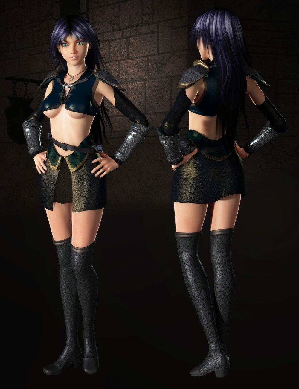 Mistral Fighter pour Genesis 2 Femme