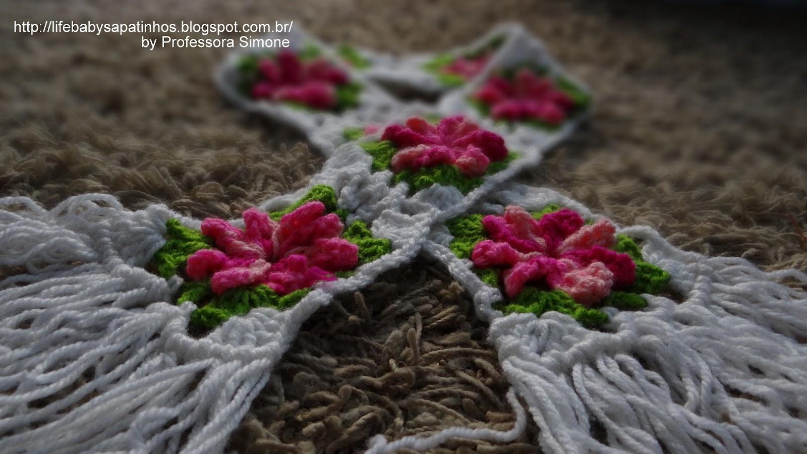 Franja no Crochê | Ateliê do Crochê