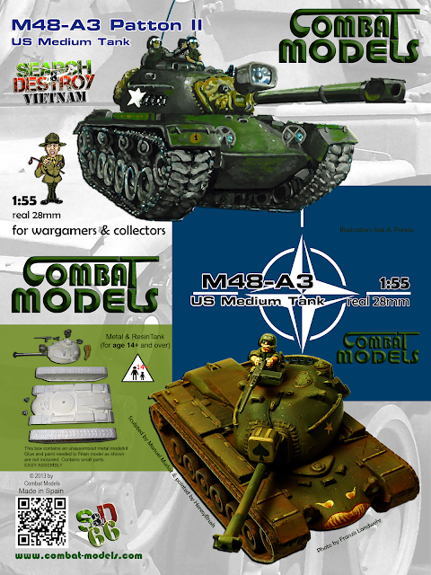 M48 Patton Combat Models (Cover)