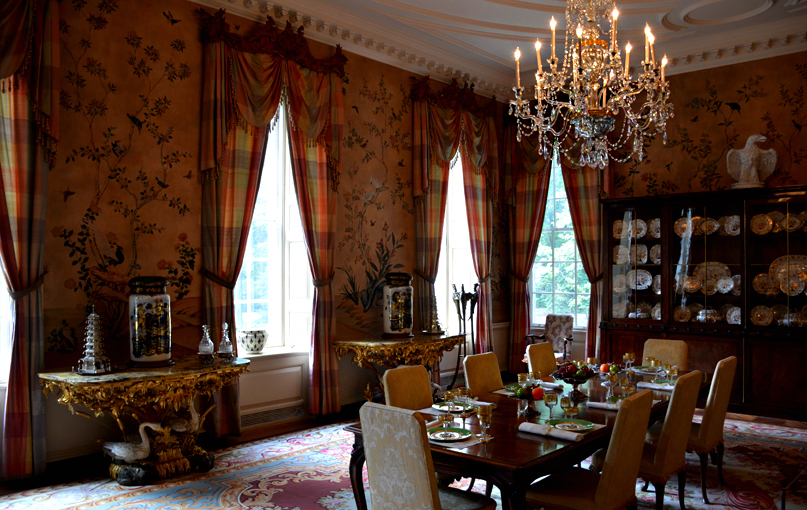 Swan House Capitol Tour, Atlanta History Center | Dining Room