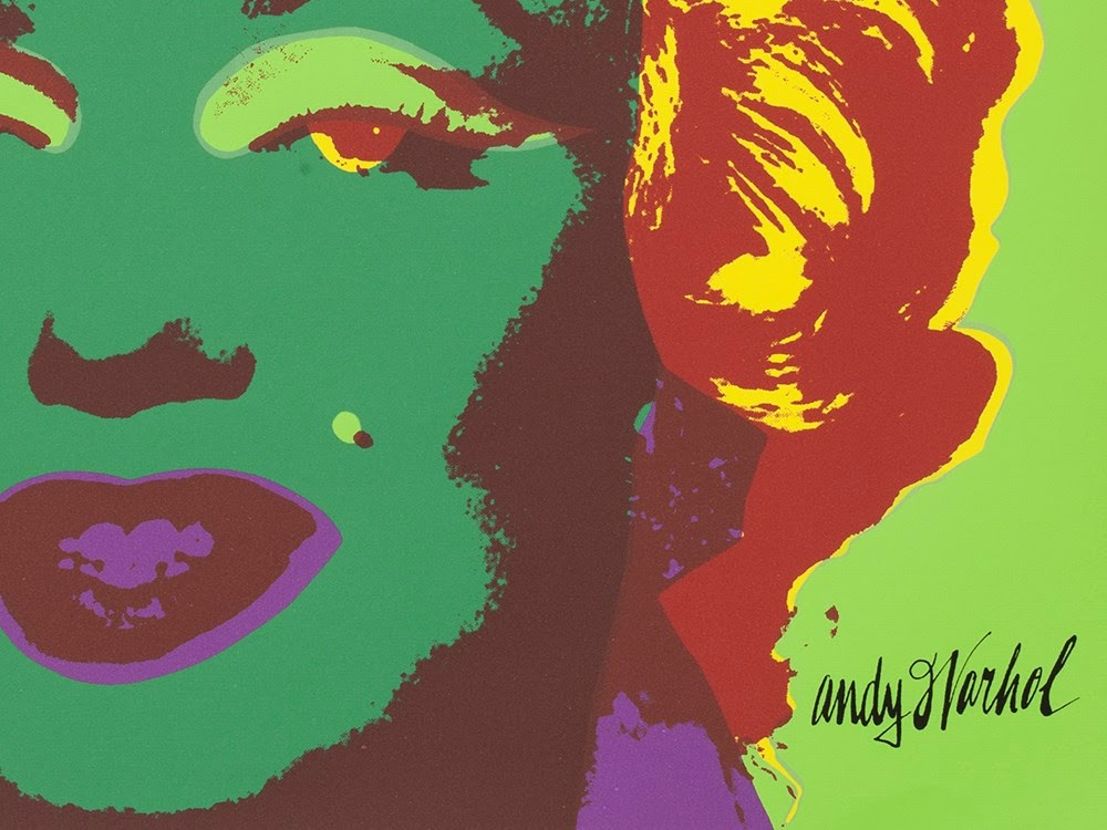 Counterfeit After Andy Warhol sold by Auctionata with erroneous signature