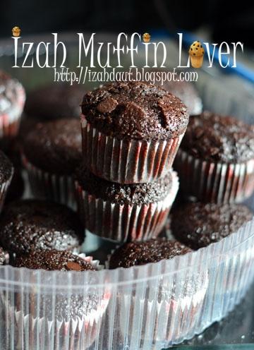 Izah Muffin Lover Muffin Coklat