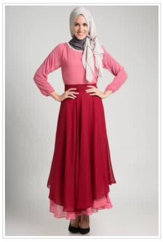 10 desain baju gaun wanita muslimah update agustus baju online