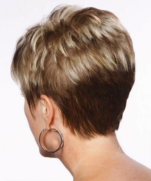 Layered Pixie Cut Back View - newhairstylesformen2014.com
