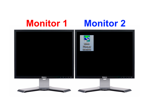 Make Primary Monitor - Utilização