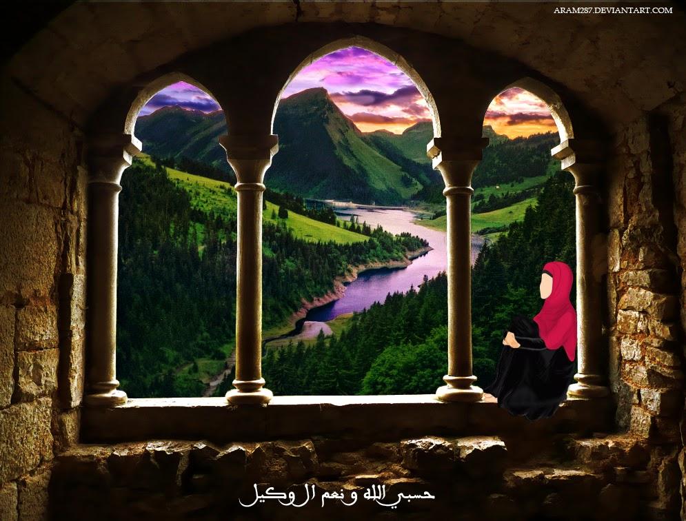 HD Wallpaper kaligrafi Arab hidup PC