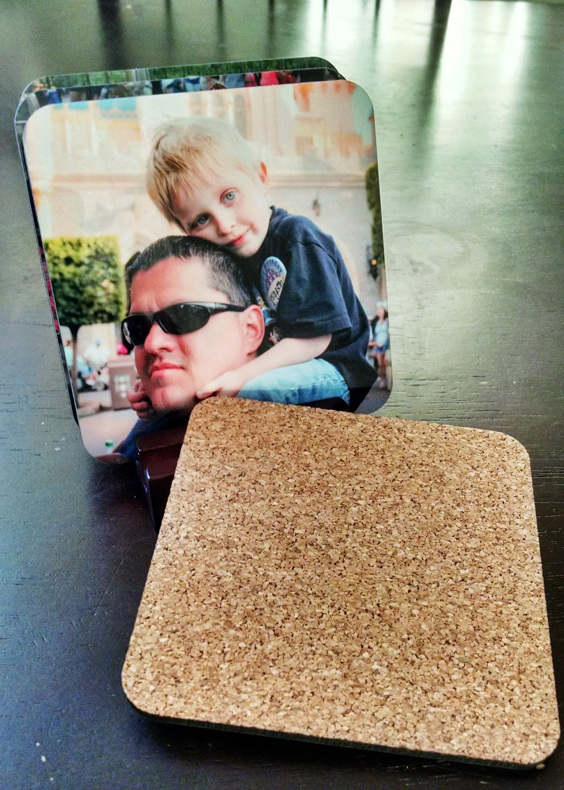 High quality coasters from your Disney Photos