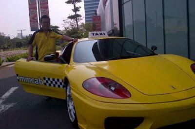 Taxi Ferrari Dan Porsche